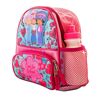 Strawberry Shortcake Girls Lunch Box Backpack Book Bag w Water Bottle SB01229