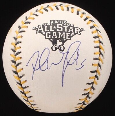 88e86ffa David Wright Autographed 2006 All Star Game Baseball JSA Authentic  Pittsburgh!
