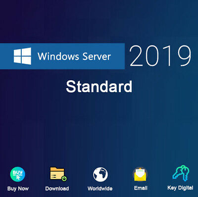 Windows Server 2019 Standard Download Activation Genuine For 1 PC