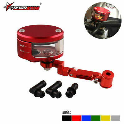 CNC Brake Clutch Master Cylinder Fluid Reservoir Tank Oil Cup for Motorcycle New