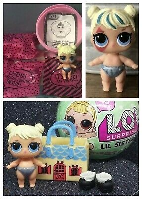LOL Surprise Doll Lil Curious QT Cutie Series2 Ball Lil Sis Alice In Wonderland