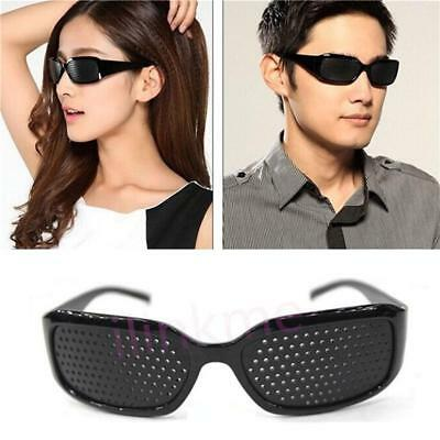 Eyes Correction Exercise Eyesight Vision Care Improvement Pinhole Glasses CP