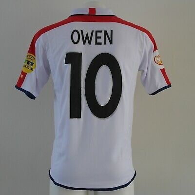 d3222e031 OWEN 10 ENGLAND Shirt Euro 2004 Football - £29.99