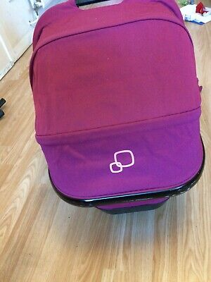 QUINNY BUZZ, XTRA & MOODD FOLDABLE CARRYCOT In Pink