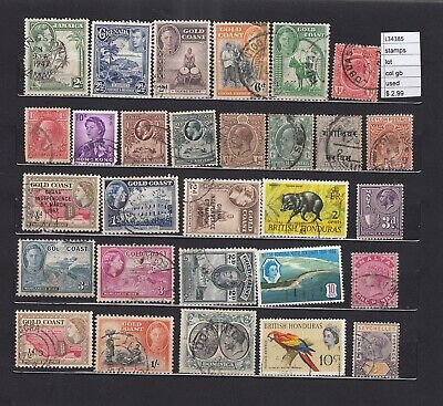 Lot Stamps British Colonies Used (L34385)