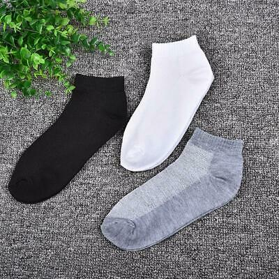 6Pairs Men Women Invisible Low Cut No Show Footlet Socks Cotton Rich No-Slip LA