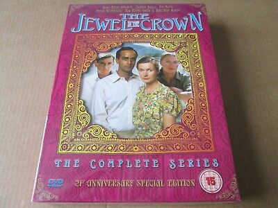 The Jewel In The Crown - The Complete Series (DVD, 2005) NEW AND SEALED REGION 2