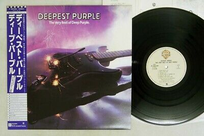DEEP PURPLE DEEPEST PURPLE/VERY BEST OF WARNER P-10914W Japan OBI VINYL LP
