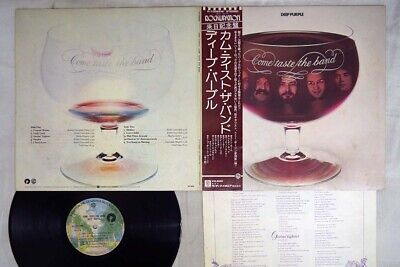 DEEP PURPLE COME TASTE THE BAND WARNER P-10066W Japan OBI VINYL LP