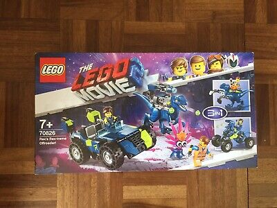 Lego The Lego Movie 2 70826 Rex'S Rex-Treme Offroader - New In Sealed Box