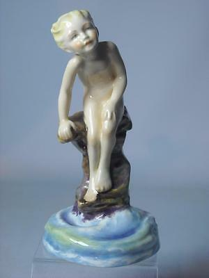 Royal Worcester WATER BABY Figurine RW3151 Puce Mark & Modelled By F G Doughty