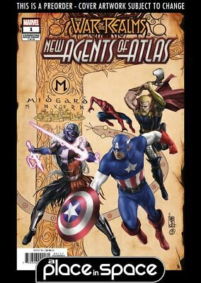 (Wk19) War Of The Realms: New Agents Of Atlas #1B - Variant - Preorder 8Th May