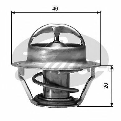 Gates Thermostat coolant TH03091G1 Replaces 24505924,24506986,10078980,10182377