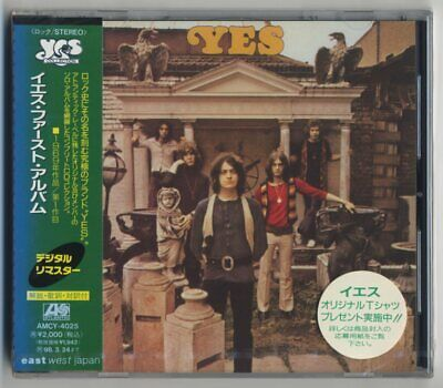 Yes - Self-Titled Album (1st Album) JAPAN CD with OBI, BRAND NEW/FACTORY SEALED