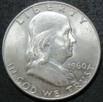 1960-D Franklin Half Dollar Coin