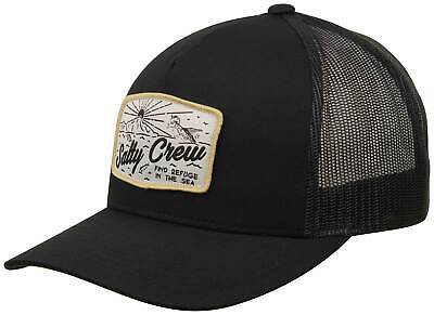 finest selection 45813 e98af Salty Crew Frenzy Retro Trucker Hat - Black - New