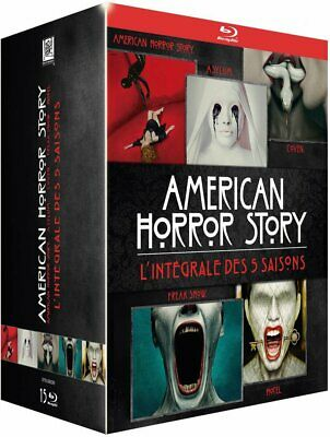 Coffret Blu Ray Integrale Des 5 Saisons American Horror Story Neuf Sous Blister