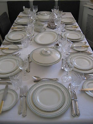 Comprehensive Royal Doulton 'Berkshire' 6-Place Dinner/Tea and Coffee Service