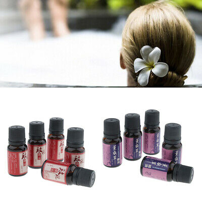 10X 10ml Natural Organic Aromatherapy Massage Essential Oils for Diffuser