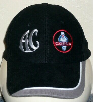 Unisex Baseball Cap with Embroidered AC Cobra Car Logo