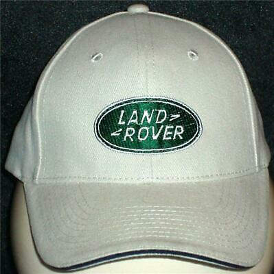 Unisex Baseball Cap with Embroidered Land Rover Car Logo
