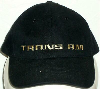 Unisex Baseball Cap with Embroidered Trams Am Car Logo