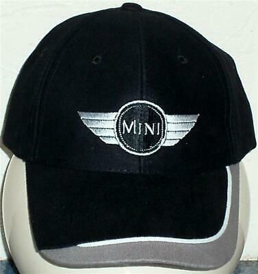 Unisex Baseball Cap with Embroidered Mini Car Logo