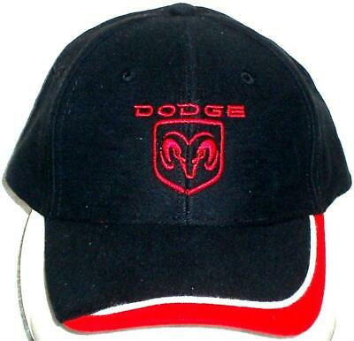 Unisex Baseball Cap with Embroidered Dodge Ram Car Logo