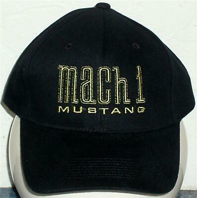 Unisex Baseball Cap with Embroidered Mustang Mach1 Car Logo