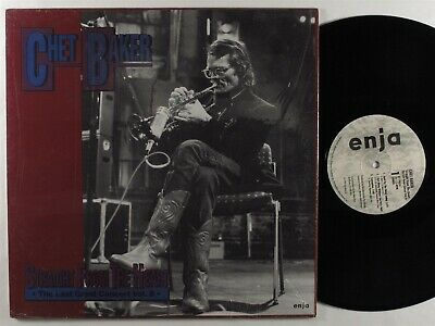 CHET BAKER Straight From The Heart: Last Great Concert Vol. 2 ENJA LP VG++/NM