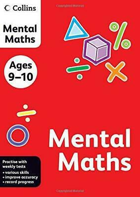 Collins Mental Maths: Ages 9-10 (Collins Practice), Very Good Condition Book, ,