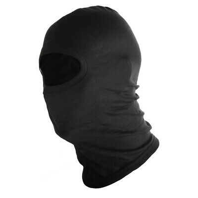 Fly Racing Cotton Balaclava Facemask Black