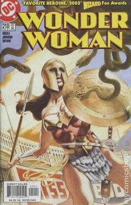 Wonder Woman (2nd Series) #210 2005 VF Stock Image