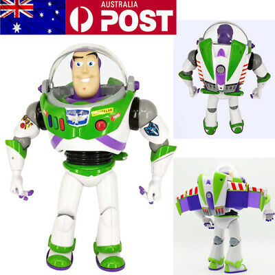 "12"" Disney Toy Story Buzz Lightyear Talking 15 Phrases Sound Action Figure Toy"