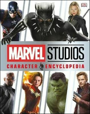 NEW Marvel Studios Character Encyclopedia By DK Hardcover Free Shipping