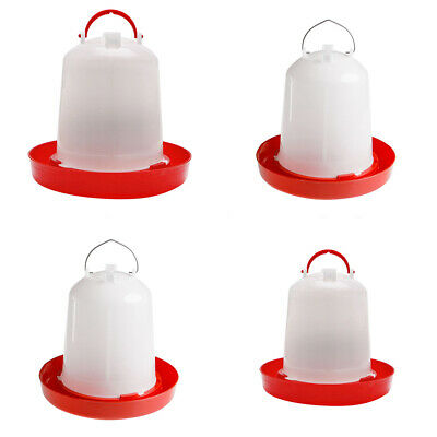 1.5/2.5/4/6L Feeder Drinker Chicken/Poultry/Chick/Hen Food&Water Accesories Fill
