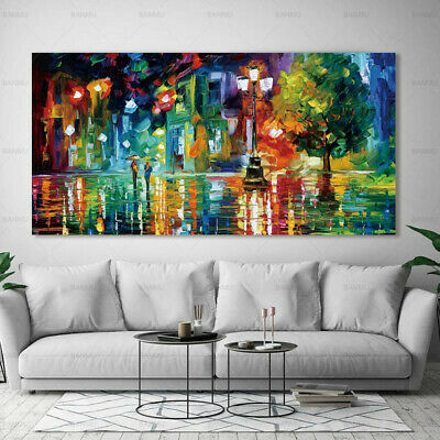 Abstract Landscape Canvas Painting Wall Art Picture Home Decor Decoration