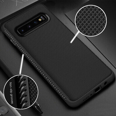For Samsung Galaxy S10+/S10 Anti-Skid Shockproof Soft Silicone Rubber Cover Case