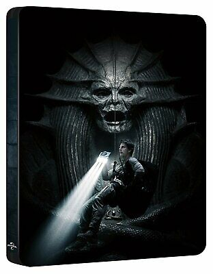 The Mummy 3D Blu-ray Steelbook Dolby Atmos audio Tom Cruise UK release
