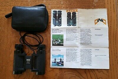 CARL ZEISS 8X20 very Compact Binoculars with original case and instructions VGC