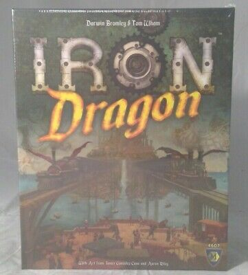 Iron Dragon Board Game Brand New & Sealed