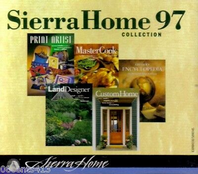 Sierra Home 97 Collection Print / Cook / Land Designer / Custom Home (4-Disc CD)