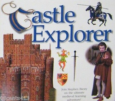 Castle Explorer (CD-ROM For Windows & Mac) Explore 3D Environments & More
