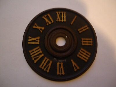""". Cuckoo Clock Numbers Dial 9//16"""" Bone Color. Railroad and others"""