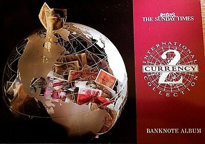The Sunday Times International Currency Collection 2 Banknote Album - Complete