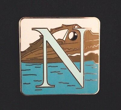 Disney Parks Alphabet Mystery Collection - N - Nautilus Pin Only
