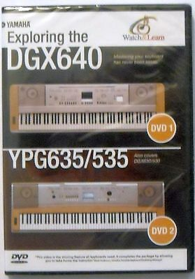 YAMAHA DVD FOR YPG-625 YPG-525 DGX-620 DGX-520 Keyboards, New Sealed