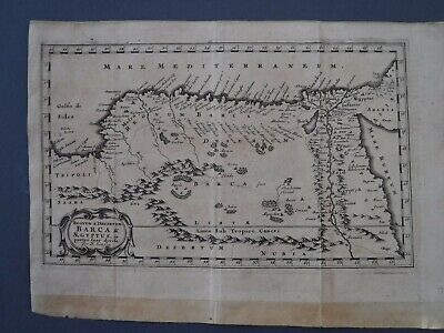 Original Antique map of'' EGYPT''By Nicholas SANSON  1679