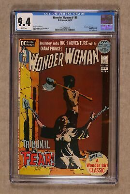 Wonder Woman (1st Series DC) #199 1972 CGC 9.4 1473125012
