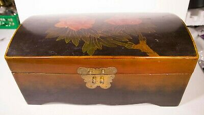 Chinese Lacquered Wooden Box